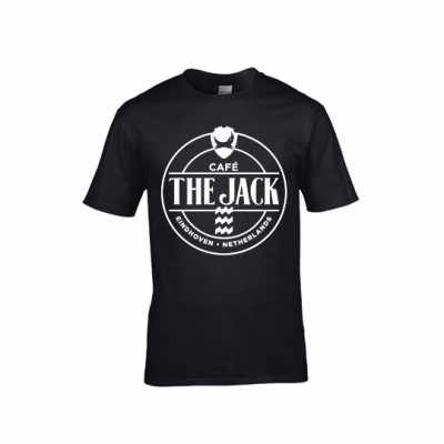 Café The Jack logo shirt mannen