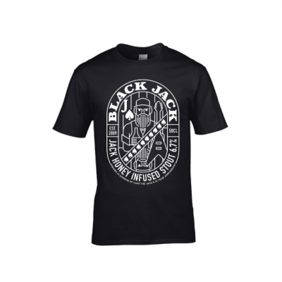 Black Jack shirt mannen